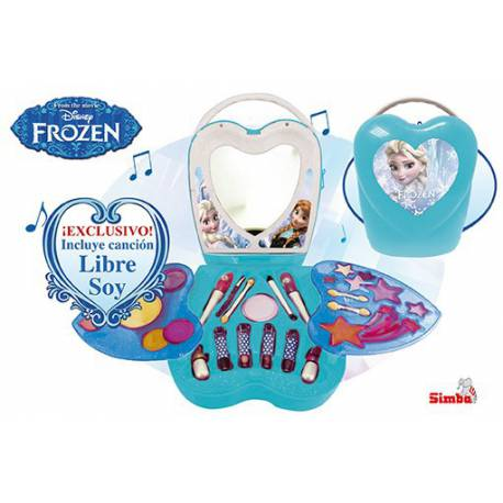 Maquillaje Frozen Corazon Musical