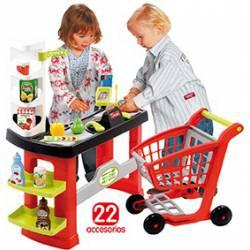 Supermercado con Carrito de Compra
