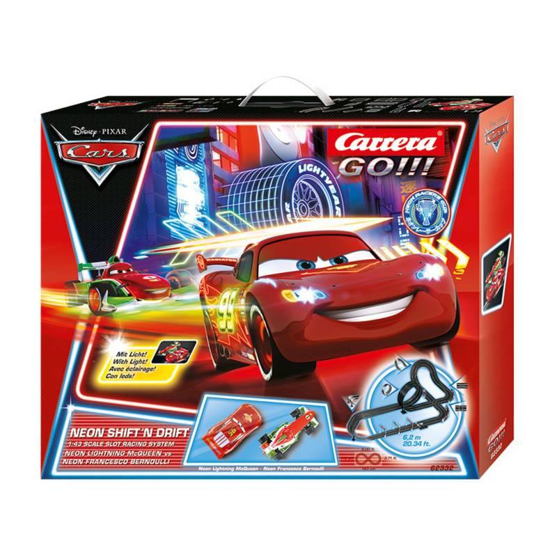 Pista carrera go disney pixar cars - Juguetes disney cars ...