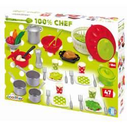 Utensilios de Cocina Ecoiffier 47 piezas