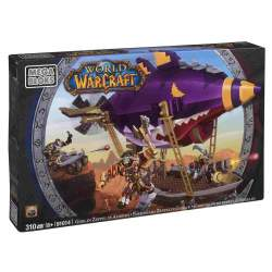 Mega Bloks World Of Warcraft Emboscada Zeppelin Globin