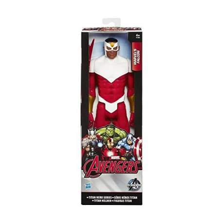 Figura Falcon Titán 30 cm Marvel Avengers Titan Hero Series