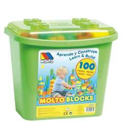 Molto Blocks Cubo Construcción 100 Piezas