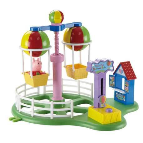 Peppa Pig Globos Voladores Parque de Atracciones