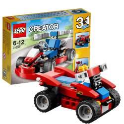 Lego Creator 3 en 1 Karkt Rojo 31030