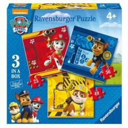 Patrulla Canina Puzzles de 25 36 y 49 Piezas