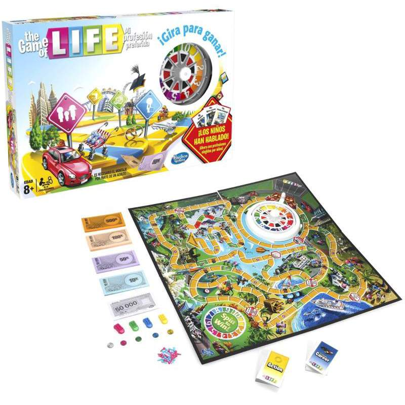 Tag Game Of Life Juego De Mesa