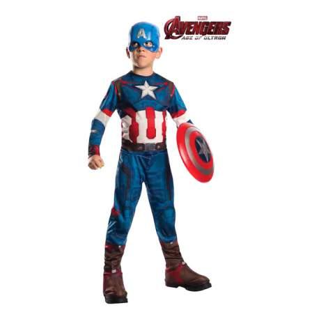 Avengers Disfraz Capitán América Rubies Talla S