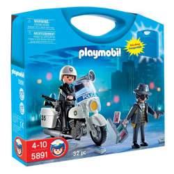 Playmobil Maletín Policía y Ladrón ref. 5891