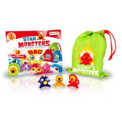 Star Monsters Bolsa 3 Figuras