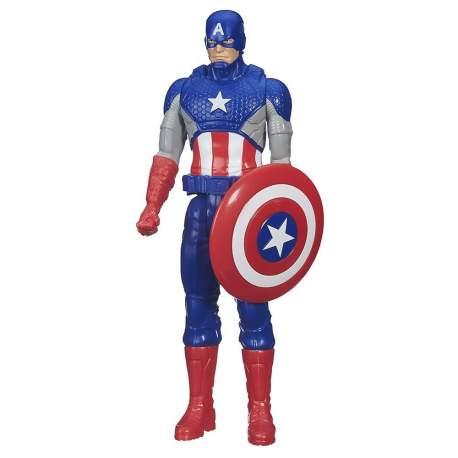 Figura Capitan America Titán 30 cm Marvel Avengers Age of Ultron Titan Hero Series