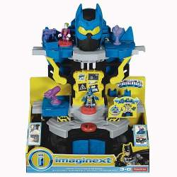 BatCueva Transformable Imaginext