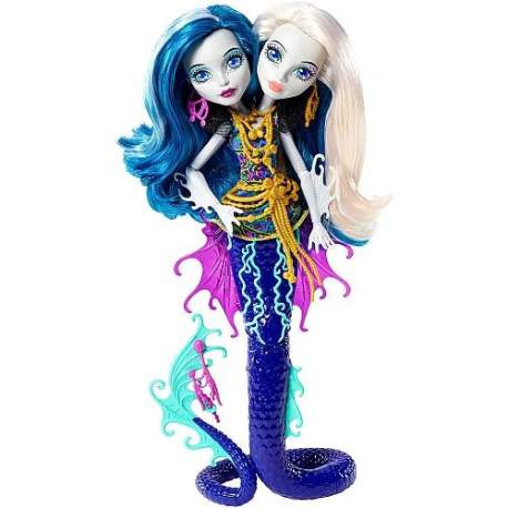 Monster High Monstruitas Marinas Inseparables