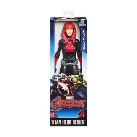 Figura Black Widow Titán 30 cm Marvel Avengers Titan Hero Series