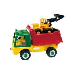 Camion Volquete C/ Excavadora O.P. 68 X 45 X 32 Cm.