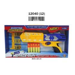 Pistola Con Dardos 30 Cm. 2 Modelos