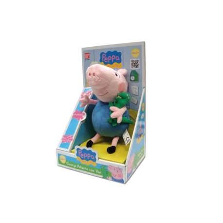 Peluche Peppa Pig George Con Voz 28X12X19