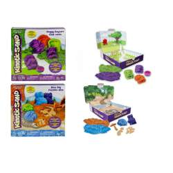 Arena Moldeable Kinetic Sand Perros O Dinos Sds  C/ 3 Moldes,1 Accesorio Y Arenero Transformable