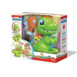 Dinosaurio Baby T Rex Enseña Letras, Numeros, Sonidos De Animales Y Canciones