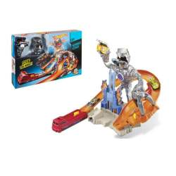 Pista Hot Wheels Robot Attack Con 1 Coche Hot Wheels