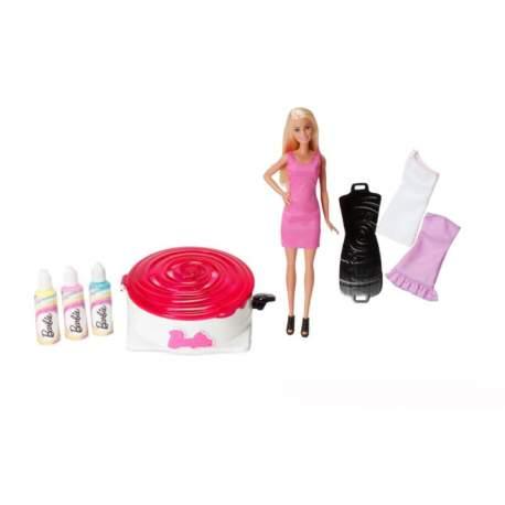 Muñeca Barbie Gira Y Diseña El Vestido