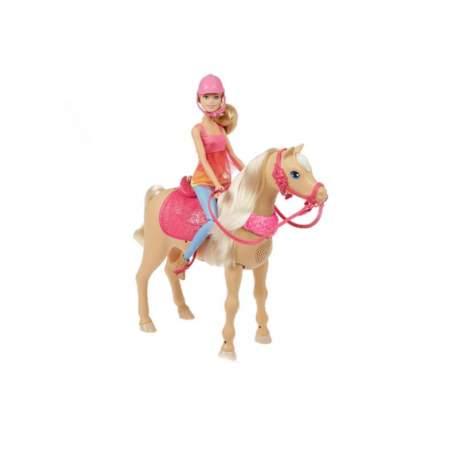 Muñeca Barbie Y Su Caballo Bailarín Canta 3 Canciones