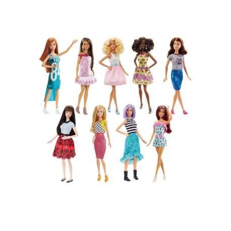 Muñeca Barbie Fashionista Mod.Sdos