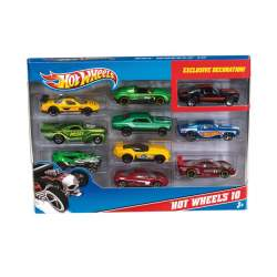 Coche Hot Wheels Pack 10 Unds.