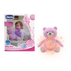 Proyector Musical Baby Bear Rosa