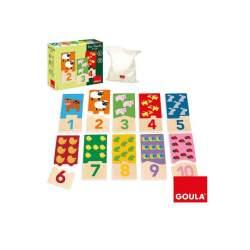 Goula Puzle Duo 1-10 Madera