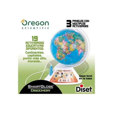 Globo Interactivo Oregon Smart Discovery 19 Actividades
