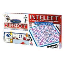 Juego Superpoly Y Intelect Magnetico
