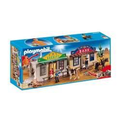 Playmobil Ciudad Del Oeste Maletín
