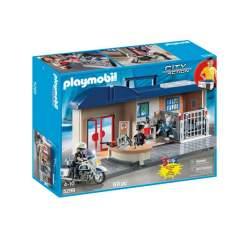 Playmobil Estacion De Policia Maletin
