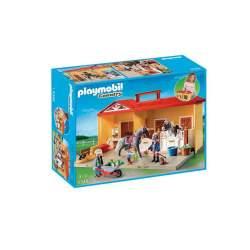 Playmobil Establo De Caballos Maletín