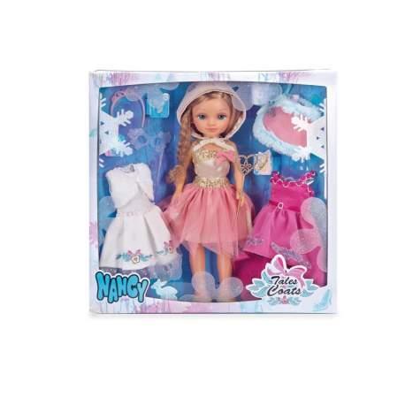 Nancy 3 Vestidos De Cuentos Con Muñeca