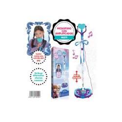Microfono Frozen Con Amplificador