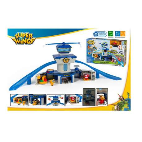 Aeropuerto Internancional Superwings Con Figura
