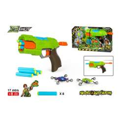 Pistola Lanzadardos Bug Attack Con Monstruos