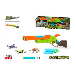 Pistola Lanzadardos Eliminator Bug Attack Con Monstruos