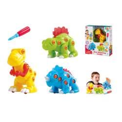 Construccion Dinosaurios Playgo
