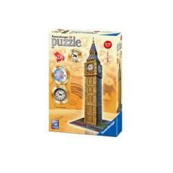 Puzzle 3D Big Ben 216 Piezas Con Reloj Automatico 41 Cms