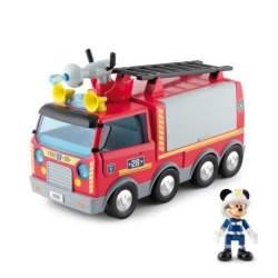 Camión De Bomberos Mickey ¡Al Rescate! C/ Luces Sonidos Y Accesorios Incluidos
