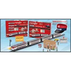 Tren Renfe Cercanias 65X53X44 Con Gorra Jefe Estacion