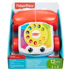 FISHER PRICE TELEFONO CARITA DIVERTIDAS