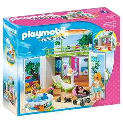 PLAYMOBIL COFRE BUNGALOW EN LA PLAYA