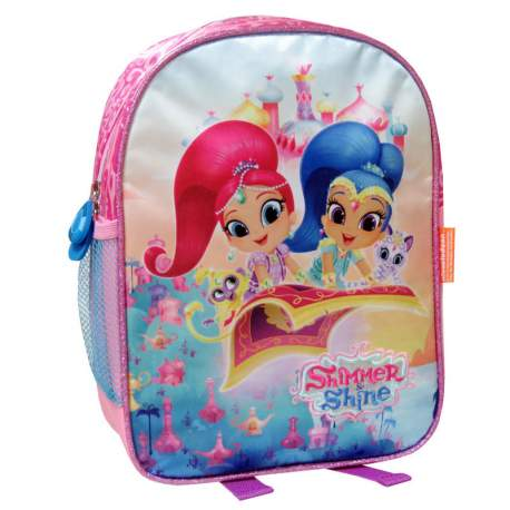 MOCHILA BORDADA 30CM SHIMMER AND SHINE