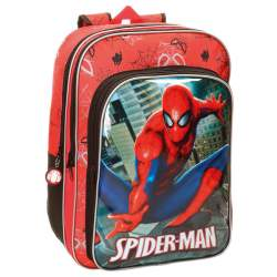 Mochila Spiderman Marvel 40cm adaptable