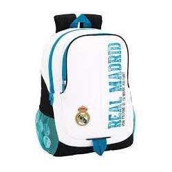 Mochila Real Madrid Adaptable.