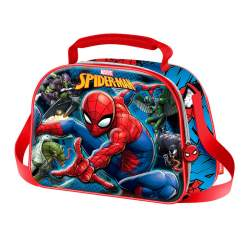 Bolsa Portameriendas 3D Spiderman Marvel Danger